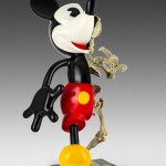 NICO RUBINSTEIN mickey walking BRONZE 48x26x30cm 530px