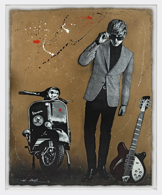 JEF AEROSOL we are the mods! carton 198x142cm 530px