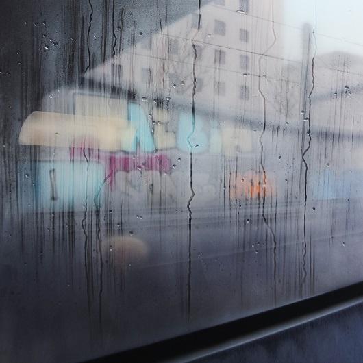 13h22, Paris, 100x100cm, Acrylique sur toile et plexiglas, 2017 530