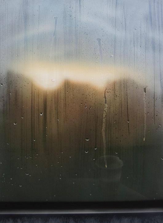 8h17, En campagne, 100x73cm, Acrylique sur toile et plexiglas, 2017 530