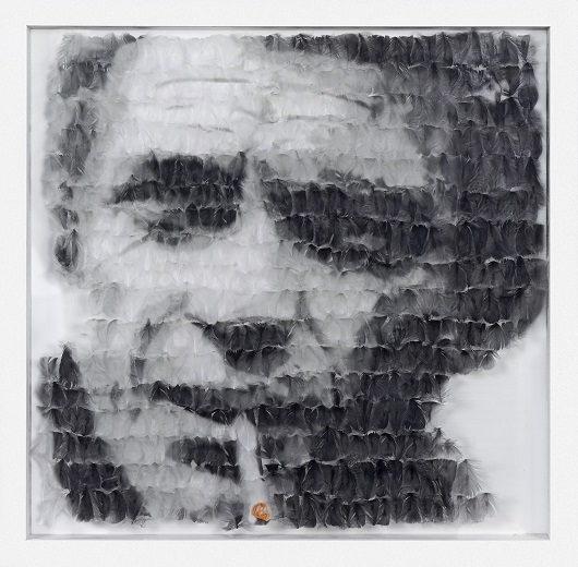 MA DAUDE I Love Ali Steve Mc Queen 90x90cm 530