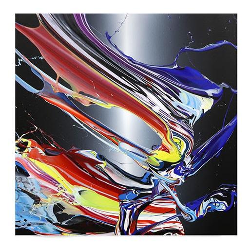 Katrin Fridriks, Starlight - Interstellar, 100x100+10cm 530