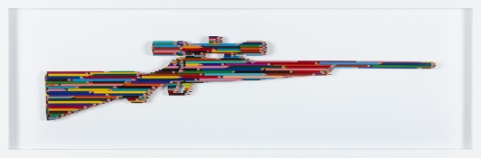 BOLTS 7 S+®rie crayons Not carnage Assemblage de crayons 128 x 40 x 6 cm 7 200 Ôé¼
