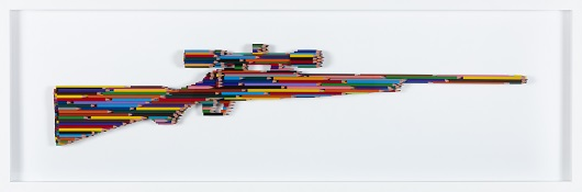 LUKE NEWTON BOLTS 8 S+®rie crayons Not carnage Assemblage de crayons 128 x 40 x 6 cm 7 400 Ôé¼