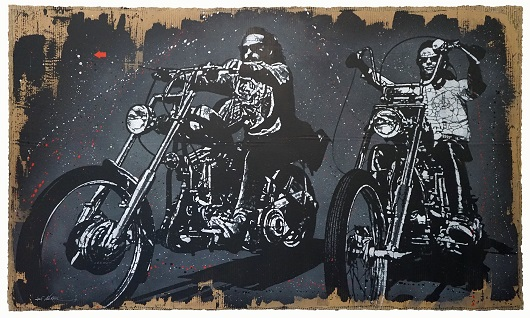 1910_Easy Rider_119x198cm_carton 13200Ôé¼