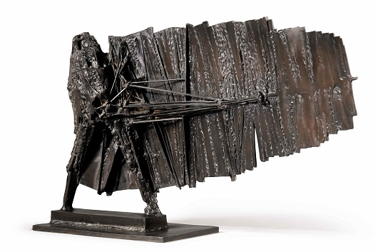 CESAR Grand Valentin signed César, numbered 6_8 and inscribed with the foundry mark Fondeur Bocquel bronze 88 x 150 x 43 cm Prix 175000€