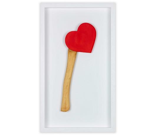Happy Valentine's 1_6 2020 , R+®sine et acylique 33x15x3,5cm 1_ 2300Ôé¼