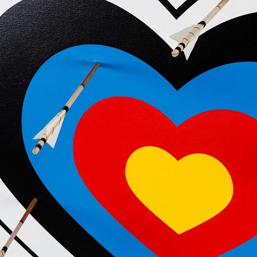 Large Heart Target Details 1 1500p